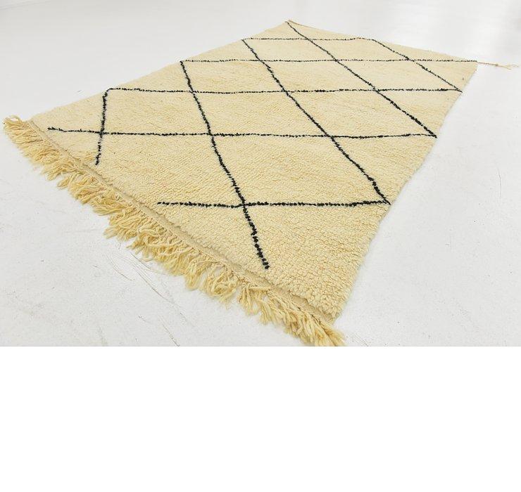 5' x 7' 6 Moroccan Rug