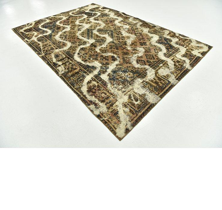 7' 3 x 10' 5 Ultra Vintage Persian Rug