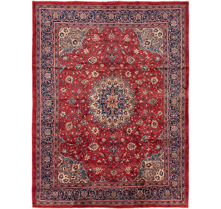 9' 10 x 13' Sarough Persian Rug