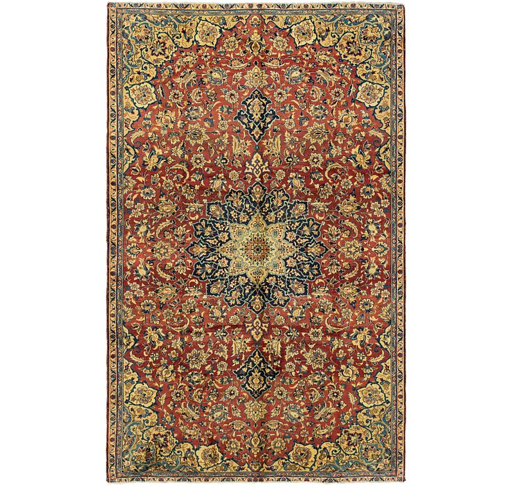 6' 7 x 10' 9 Isfahan Persian Rug