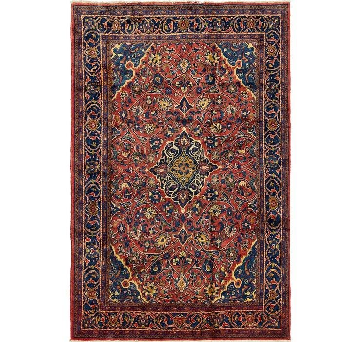 7' 2 x 10' 8 Golpayegan Persian Rug