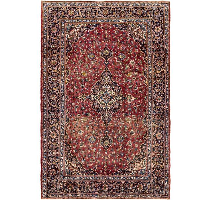 8' 4 x 12' 6 Kashan Persian Rug