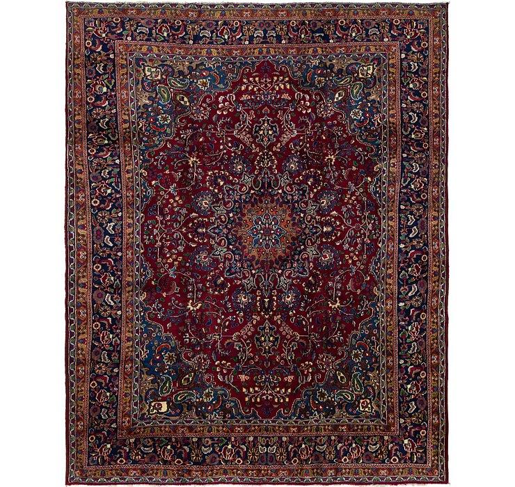 9' 7 x 12' 5 Mashad Persian Rug