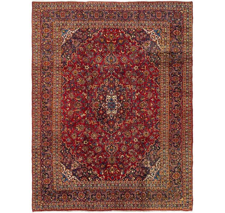 9' 5 x 12' 1 Mashad Persian Rug
