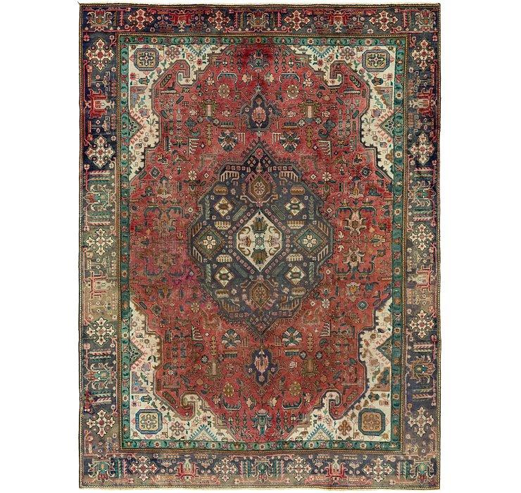 270cm x 385cm Tabriz Persian Rug