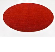 Link to 300cm x 300cm Solid Gabbeh Round Rug