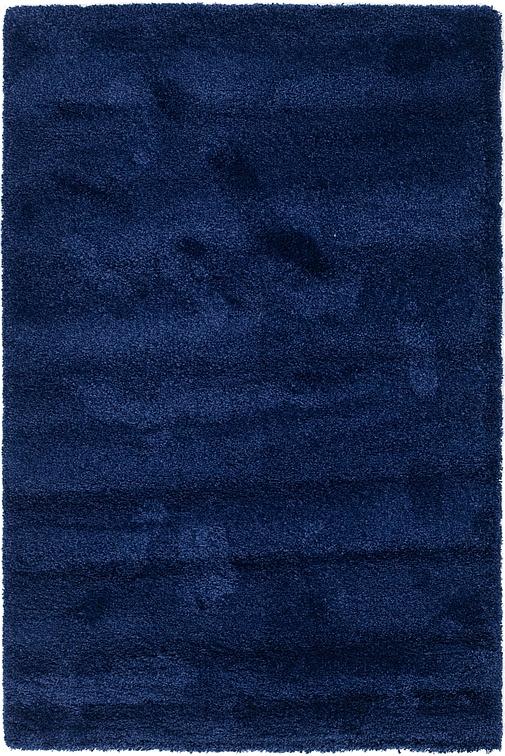 Sapphire Blue  5' 4 x 8' Solid Shag