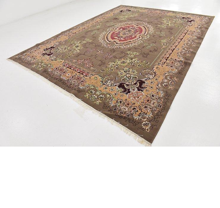 9' 8 x 13' Tabriz Design Rug