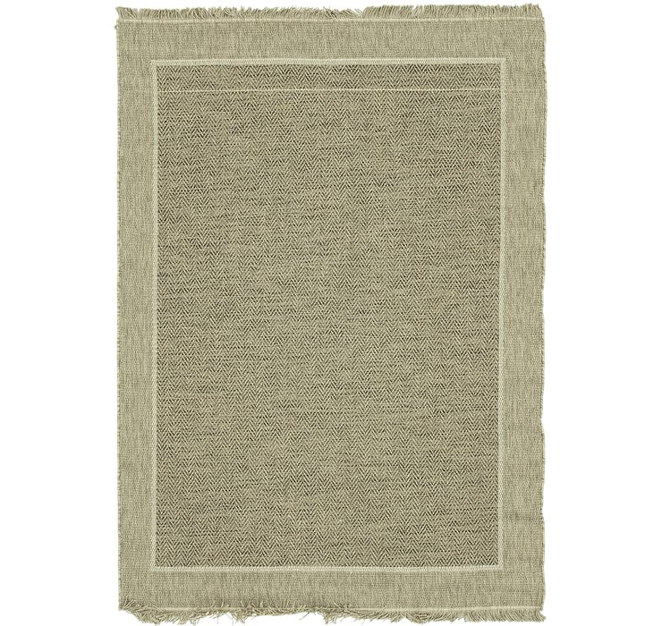 155cm x 215cm Outdoor Border Rug