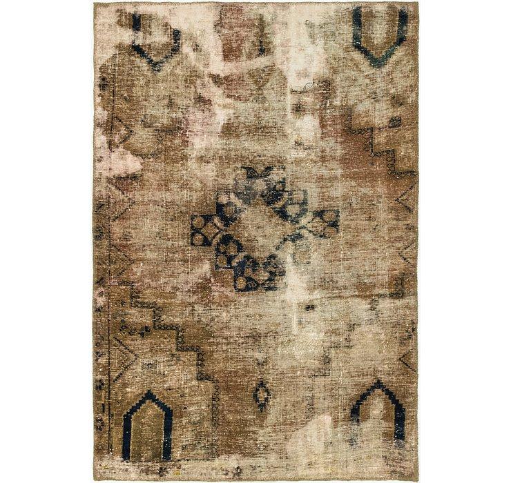 3' 8 x 5' 6 Ultra Vintage Persian Rug