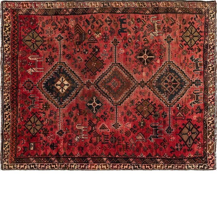 6' 7 x 8' 3 Shiraz Persian Rug