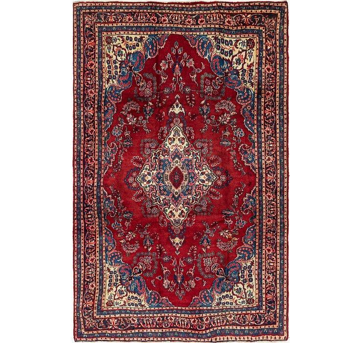 6' 8 x 10' 5 Shahrbaft Persian Rug