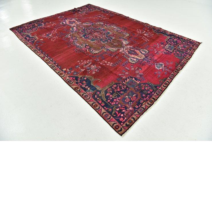 7' 7 x 10' 10 Ferdos Persian Rug