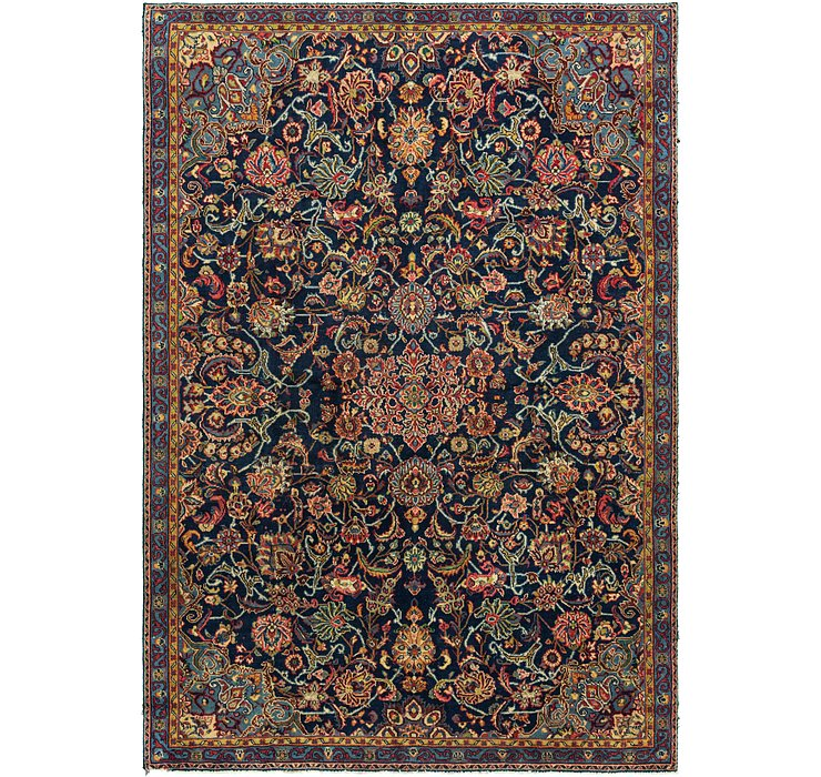 7' 10 x 11' 5 Golpayegan Persian Rug