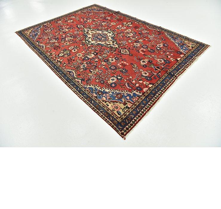 6' 10 x 9' 7 Hamedan Persian Rug