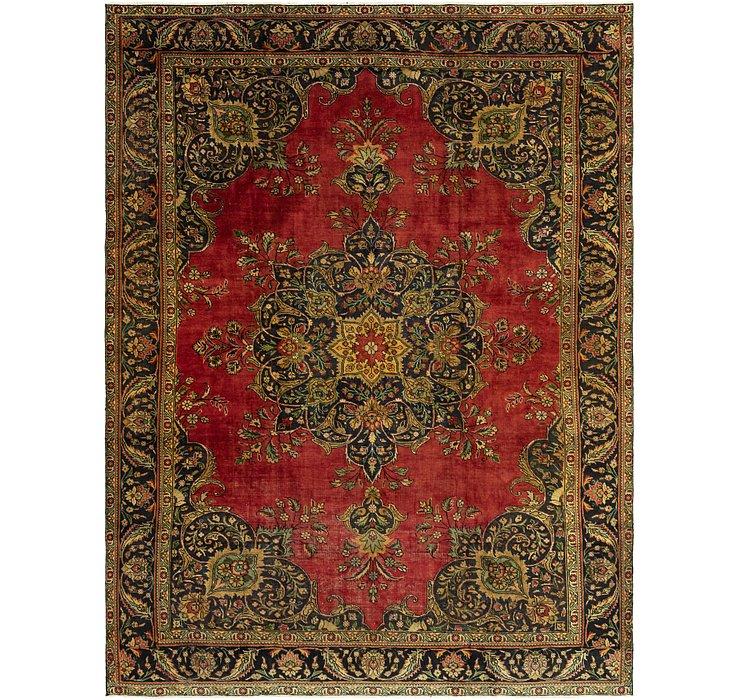 9' 10 x 12' 9 Tabriz Persian Rug