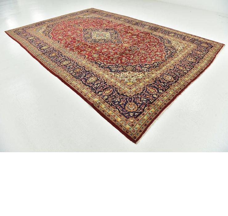 9' 6 x 14' Kashan Persian Rug