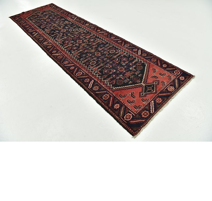 3' 5 x 11' 10 Hamedan Persian Runner ...