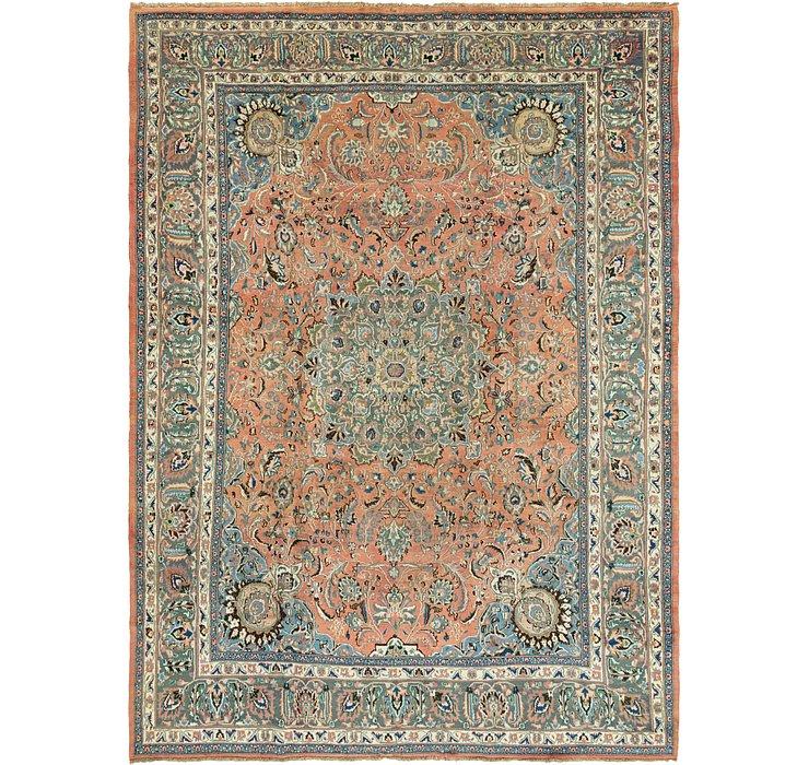 9' 5 x 12' 8 Mashad Persian Rug