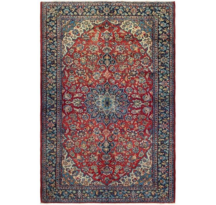6' 7 x 9' 10 Isfahan Persian Rug