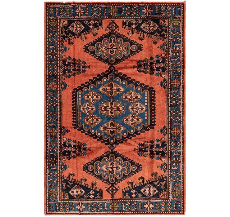 6' 9 x 10' 3 Viss Persian Rug