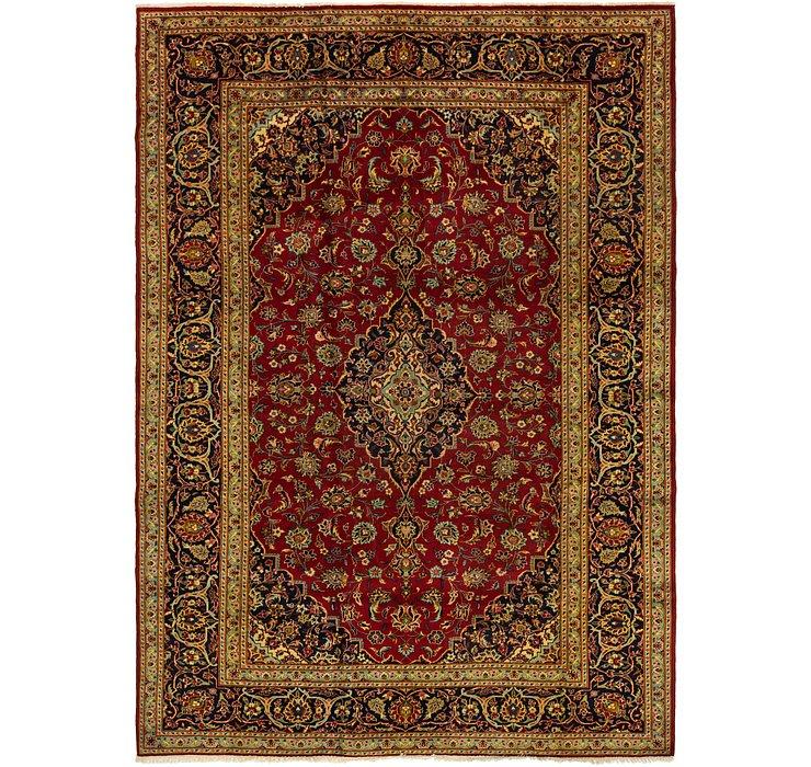 8' 4 x 11' 3 Kashan Persian Rug
