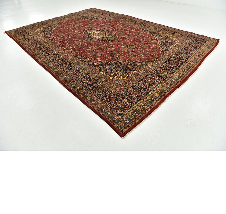 9' 6 x 13' 4 Mashad Persian Rug