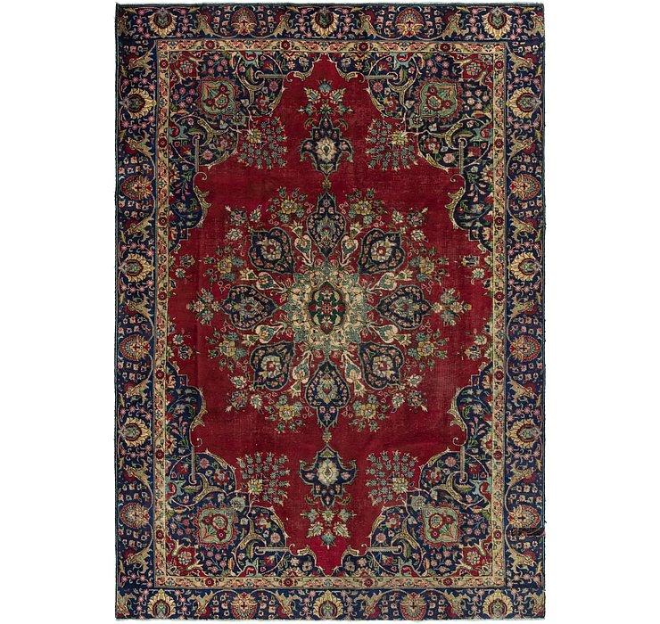 7' 7 x 11' 3 Tabriz Persian Rug