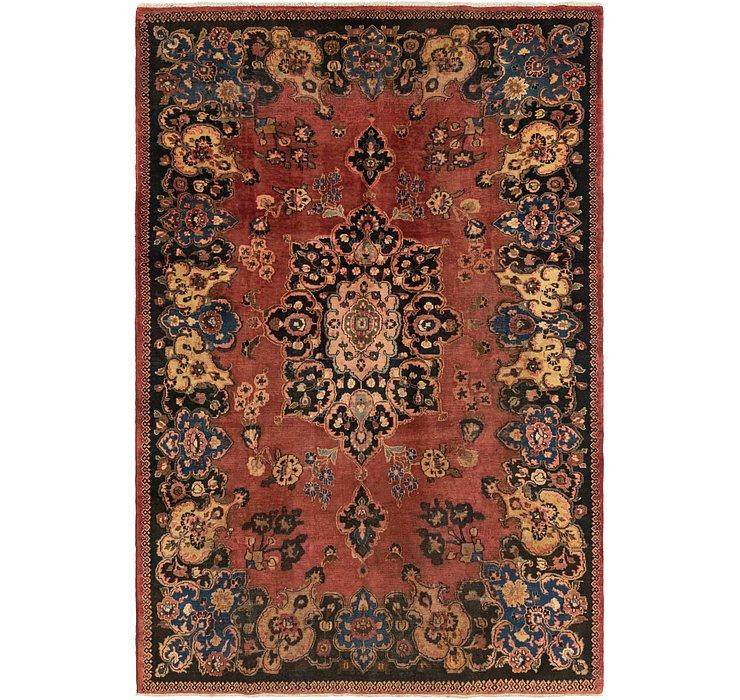 7' x 10' 5 Mashad Persian Rug