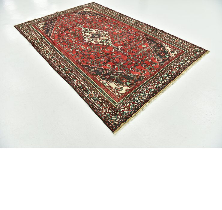 6' x 9' 4 Hamedan Persian Rug