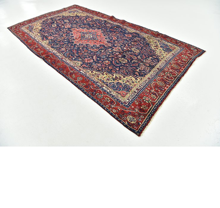 6' 4 x 11' 8 Shahrbaft Persian Rug