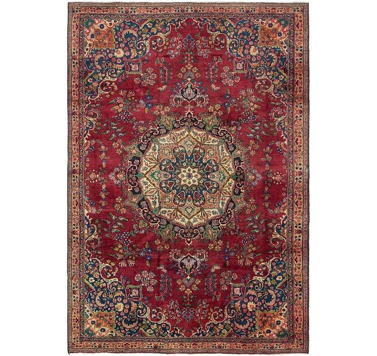 6' 10 x 10' 3 Tabriz Persian Rug