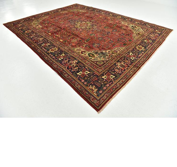 9' 9 x 12' 5 Tabriz Persian Rug