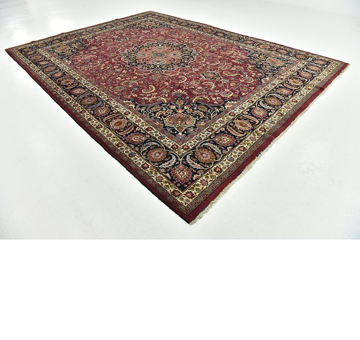 10' x 13' 4 Mashad Persian Rug