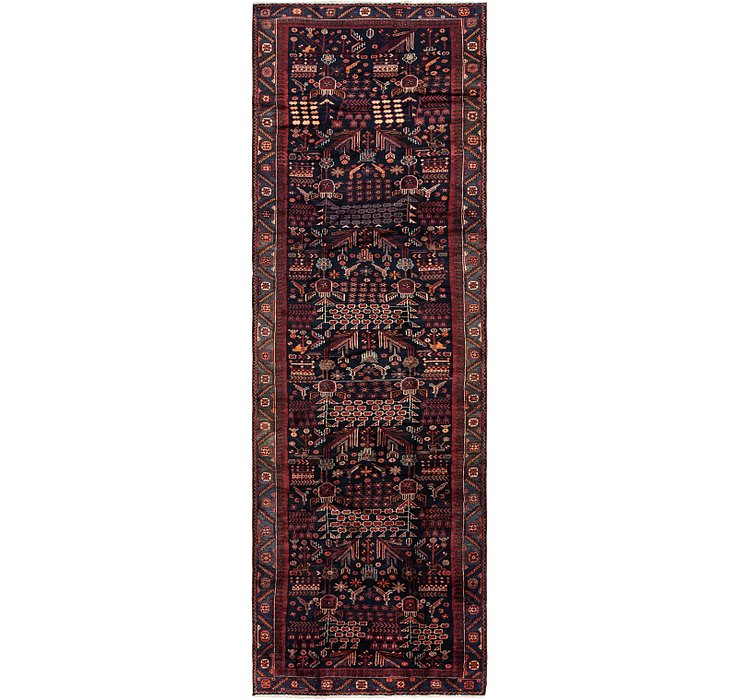 4' 10 x 15' 9 Roodbar Persian Runner ...