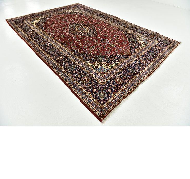 8' 1 x 11' 9 Kashan Persian Rug