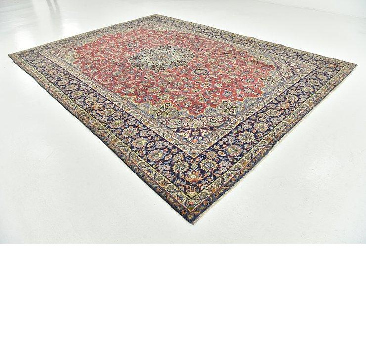 9' 9 x 13' 1 Isfahan Persian Rug