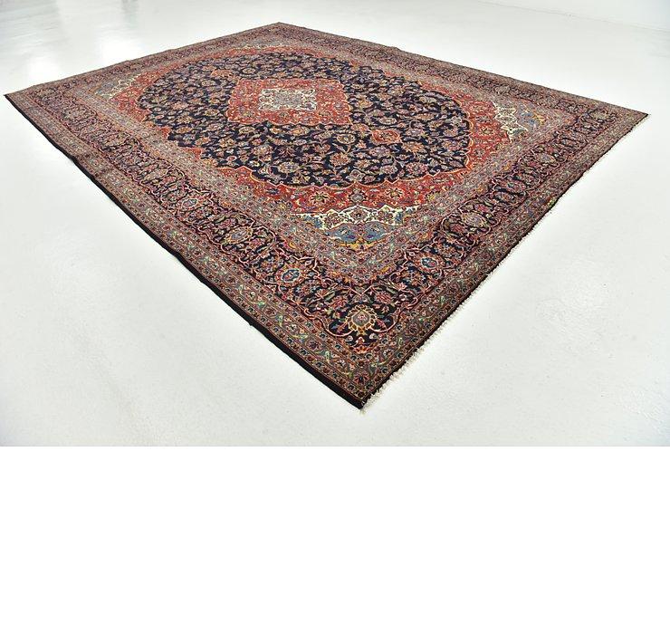 10' 2 x 13' 4 Kashan Persian Rug
