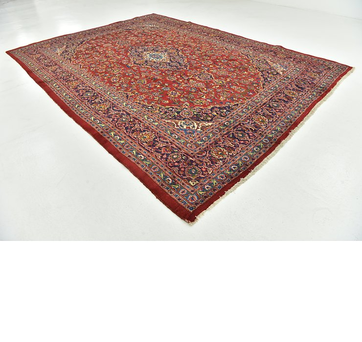 9' 7 x 13' 5 Mashad Persian Rug