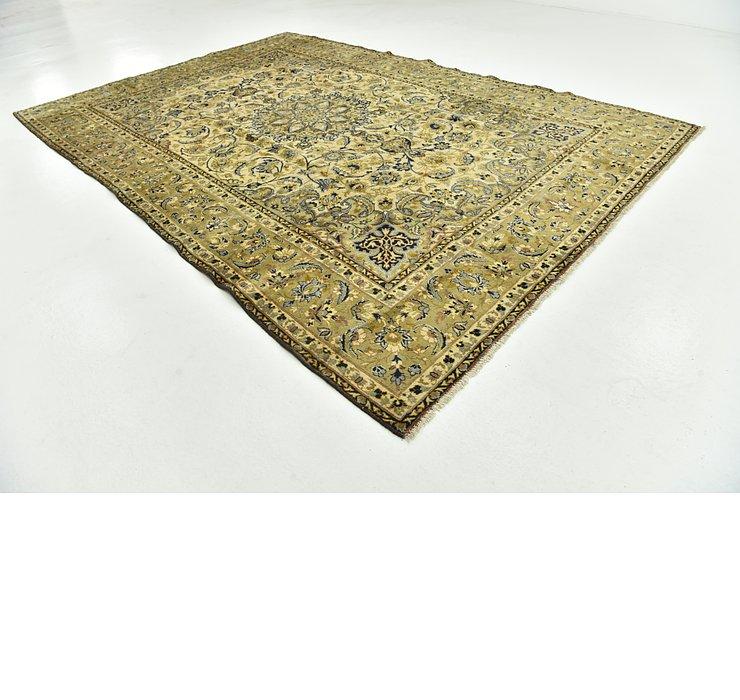 9' x 13' 6 Kashan Persian Rug