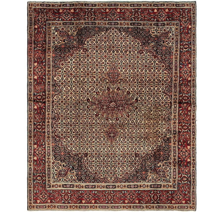 7' 2 x 8' 10 Mood Persian Square Rug