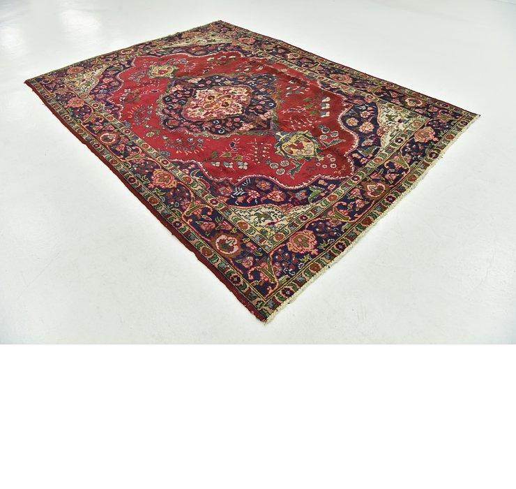 6' 8 x 9' 5 Tabriz Persian Rug