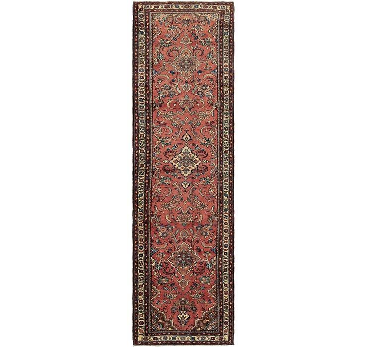 3' 7 x 13' Nanaj Persian Runner Rug