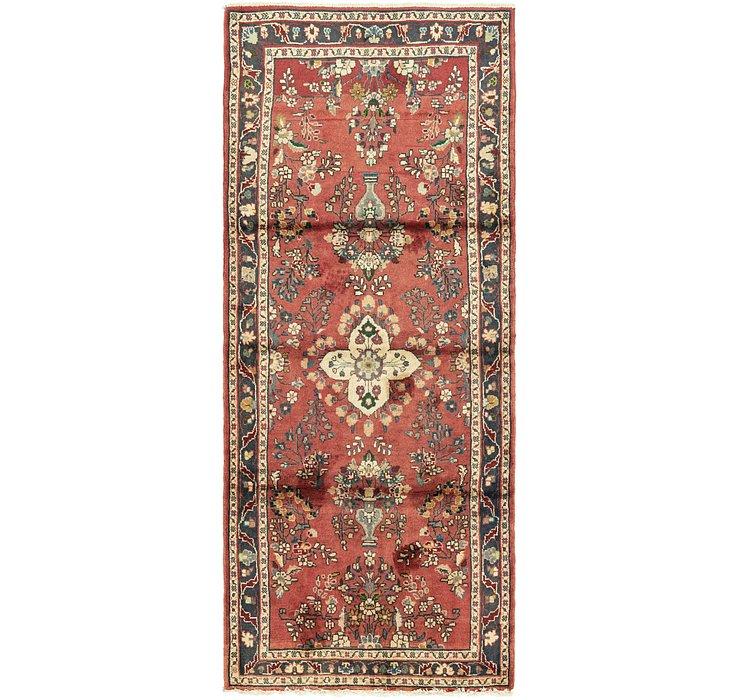 3' 7 x 8' 8 Nanaj Persian Runner Rug