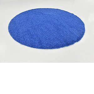 Link to 250cm x 250cm Solid Shag Round Rug item page