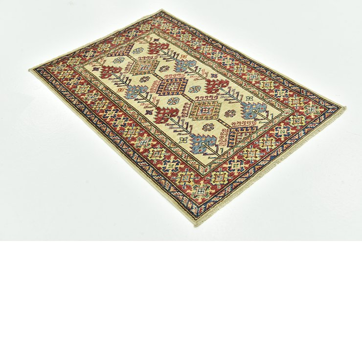 90cm x 122cm Kazak Oriental Rug