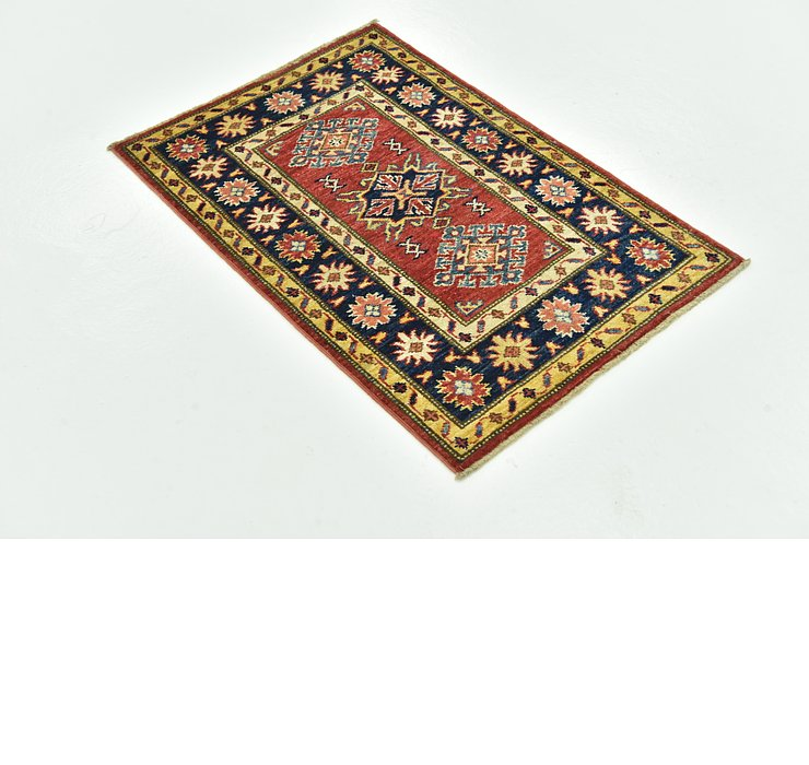 65cm x 97cm Kazak Oriental Rug