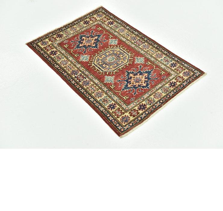 60cm x 85cm Kazak Oriental Rug