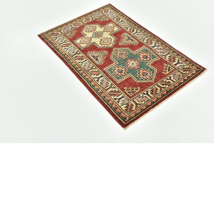 70cm x 100cm Kazak Oriental Rug