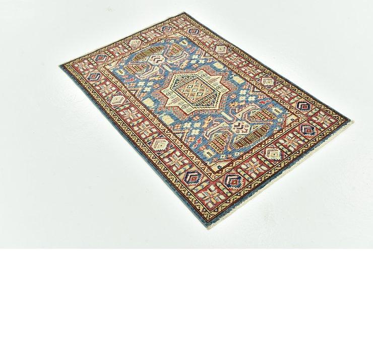 80cm x 117cm Kazak Oriental Rug